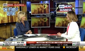 Amanda Stevens on Sky Business