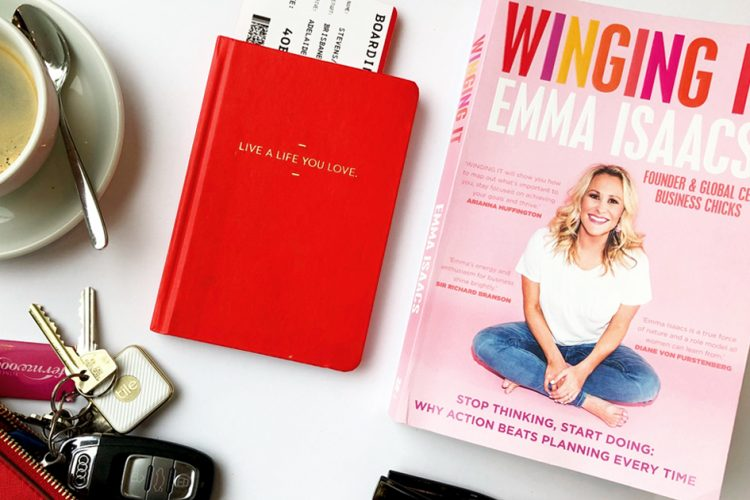BOOK REVIEW WINGING IT by Emma Isaacs