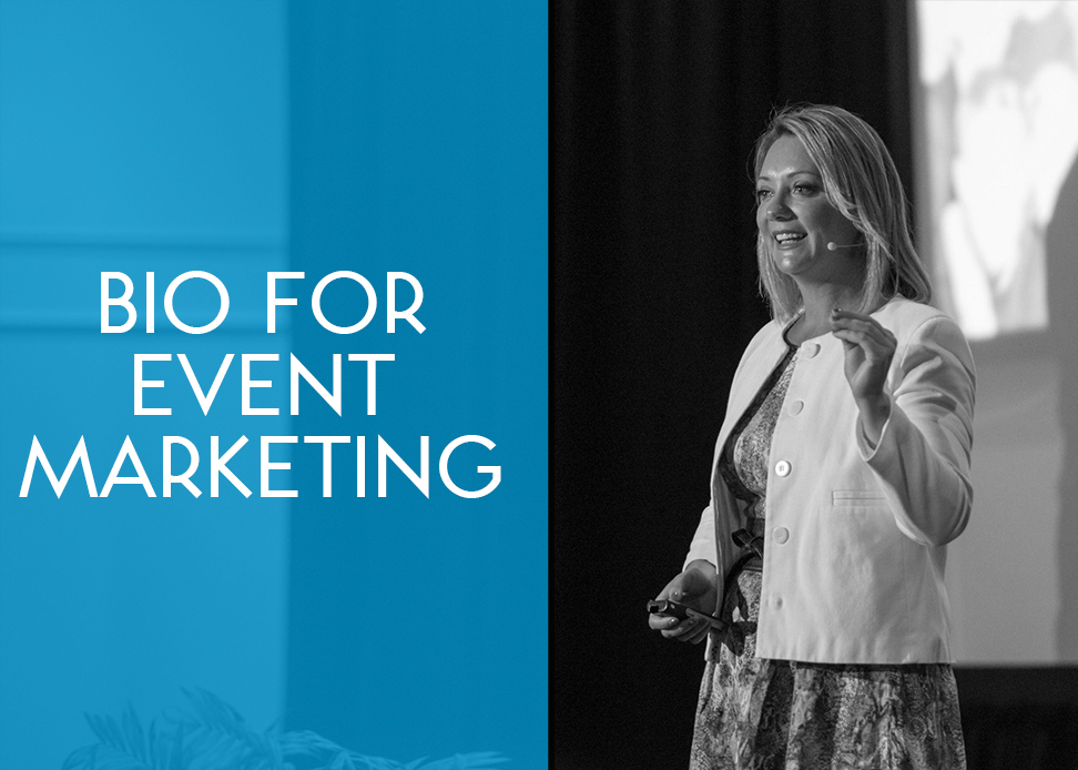 Bio for Event Marketing