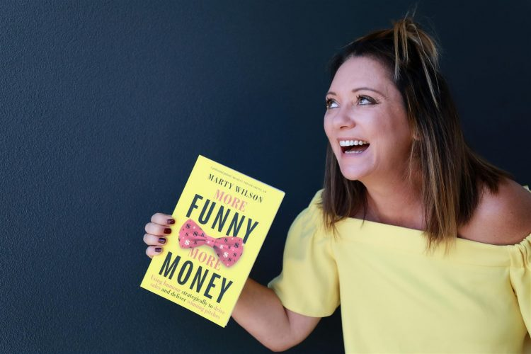 BOOK REVIEW MORE FUNNY MORE MONEY by Marty Wilson